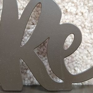 Hobby Lobby Accents - Metal Adventure sign